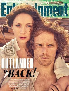 Outlander: TV's sexiest couple reunites in South Africa for EW cover shoot