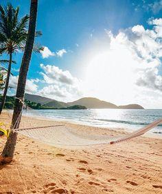 Good morning from paradise! #LoveAntiguaBarbuda #CurtainBluff