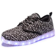 2017 NEW children sneakers USB charging kids LED luminous shoes boys girls  of colorful flashing lights