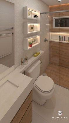 Diy home decor Diy home decor Washroom Design, Bathroom Design Luxury, Bathroom Layout, Modern Bathroom Design, Home Design Decor, Home Interior Design, Toilette Design, Modern Small Bathrooms, Bad Styling