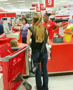 Target Remains in Crosshairs of Texas Gun Fight. businesses selling alcohol can't knowingly allow people to carry firearms on the premises. So Target needs to be reported each time this is seen happening to the Alcoholic Beverage Commission Open Carry, Carry On, Semi Automatic Rifle, Target, Pro Gun, Mother Jones, You Go Girl, Assault Rifle, Gun Control