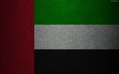 Download wallpapers Flag of UAE, 4k, leather texture, Asia, UAE, flags of the world, United Arab Emirates