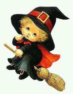Halloween Witch on Broom Image Halloween, Halloween Pictures, Holidays Halloween, Halloween Crafts, Happy Halloween, Halloween Decorations, Gb Bilder, Halloween Clipart, Witch Art