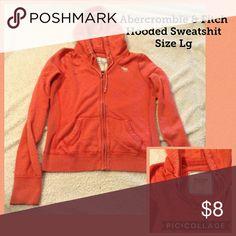 Abercrombie &Fitch Hooded Sweatshirt Size Large In Great Used Condition, an Abercrombie & Fitch Hooded Sweatshirt, size large. Abercrombie & Fitch Tops Sweatshirts & Hoodies
