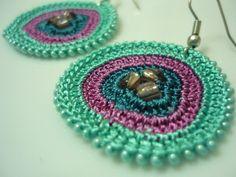 In The Deepest Crocheted Earrings