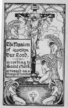 Thomas Noyes Lewis - cover for Passion of our Lord