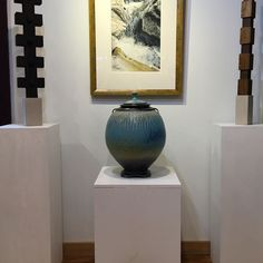 Love this Jar!!  Who has a spot for it?  #livingroom #entry #richardaerni