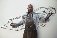 Dion Horstmans, sculptor working in Sydney, Australia Geometric Sculpture, Geometric Art, Wall Sculptures, Sculpture Art, Metal Artwork, Land Art, Art Object, Installation Art, Illustration Art