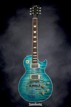 Gibson Les Paul Standard Plus - Ocean Water, 2014