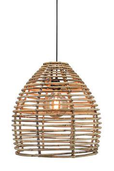 Lille Zep lampe   Shop vores mest solgte bambus pendel her!