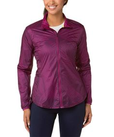 Another great find on #zulily! Brooks Currant Big Sunshine LSD Jacket by Brooks #zulilyfinds