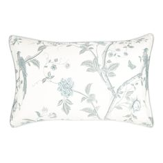 Summer Palace Pillowcase at Laura Ashley Linen Bedding, Bedding Sets, Bed Linens, Laura Ashley Home, Summer Palace, Baby Girl Bedding, Childrens Room Decor, Bed Styling, Soft Furnishings