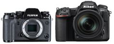 Fuji X-T2 vs. Nikon D500 Camera Comparison, Nikon D500, Fuji, Binoculars