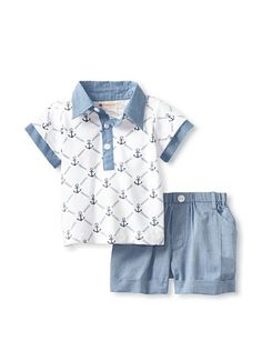 Masala Baby Anchor Playwear Set. Great Brand for kids clothing