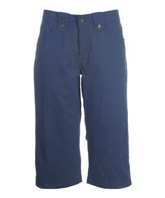 Look what I found on #zulily! French Blue Fast Dry Capri Pants - Women by Ojai Clothing #zulilyfinds