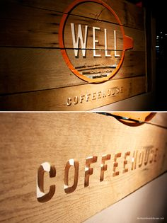 the well coffee house in nashville, tn. their before and after photos, and a little more of their wonderful story.