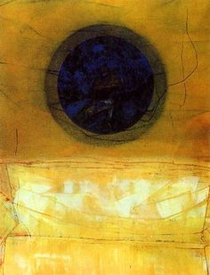 Max Ernst - The Marriage of Heaven and Earth. Another akin to Mark Rothko's work using limited colours in bands, with evocative texture. Max Ernst, Joan Miro, Wassily Kandinsky, John Heartfield, Modern Art, Contemporary Art, George Grosz, Dale Chihuly, Magritte