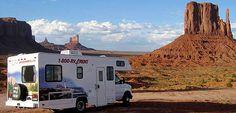 Met een camper langs de westkust van Amerika