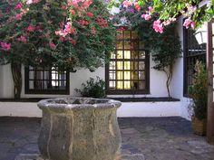 Spanish courtyard by y123vonne on DeviantArt