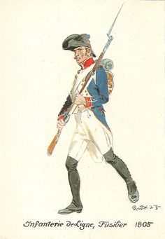 French; Line Infantry, Fusilier, 1805