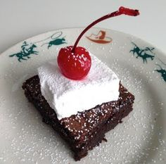 Coke & Whiskey Cowboy Brownies from Kitchen Roselli in East Bend NC