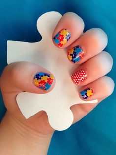 Jamberry donates $2 for every Autism Awareness nail wrap design ordered!