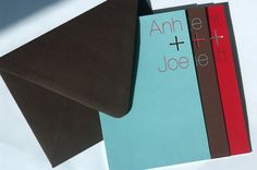 FPO: Anh and Joe Wedding Invitation