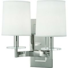 Robert Abbey-S3382-Alice - Two Light Wall Sconce transitional wall sconces