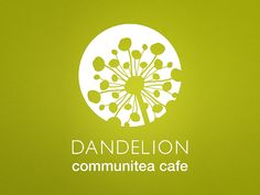 Dandelion Communitea Cafe - Logo Design (1 of 3) by Daissy
