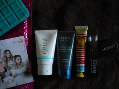 Ipsy October 2014. The bag and the hand cream were the best parts of this box. I was happy with everything though.