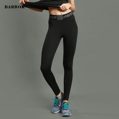 Best Deals $16.99, Buy BARBOK Women Yoga Pants High Quality GYM Running Fitness Leggings Good Elastic Profession Sports Pants