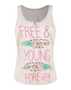 This is a tank top I would like from my all time favourite store, Ardene School Fashion, Girl Fashion, Fashion Outfits, Ladies Fashion, Pretty Outfits, Cool Outfits, Summer Outfits, 11 Clothing, Summer Clothing