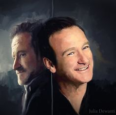 RIP Robin Williams 3 by JDewantiArt.deviantart.com on @DeviantArt