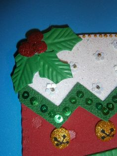 Botas Navideñas - Foami -  Bota- Navidad Regalo Fiesta Artesania- manialidades- Decoración Elaborado por Isamar Belisario