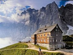 FALKENHÜTTE in the Karwendel mountain range, Austria