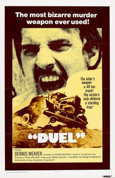 """Duel"" (1971) Steven Spielberg. The best example of what good film is...Loved this film"