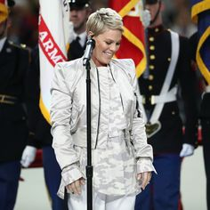 Image result for p!nk at the superbowl