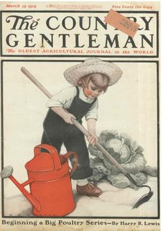 Vintage Magazine Cover - March 15 1919