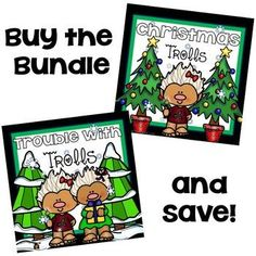 Trouble With Trolls and Christmas Trolls Book Companions
