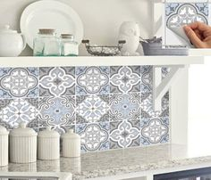 Add a splash of colour to kitchen backsplash or spice up your staircase riser or a facelift on your bathroom wall, instantly transform your home by simply peel and stick. Home decor trend is changing faster than you can hack the wall! Tile decals is the best solution to give your outdated