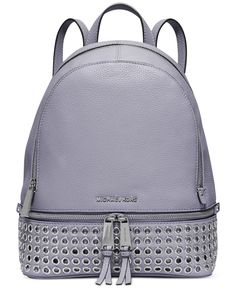 0a2251d4f1c2 MICHAEL Michael Kors Rhea Zip Grommet Medium Backpack & Reviews - Handbags  & Accessories - Macy's
