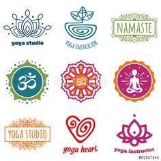 Vector: Yoga graphics