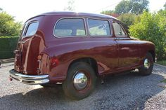 STANDARD Vanguard Van Phase 1 1951 LHD Built by Imperia (Nessonvaux - Belgium) With side Windows