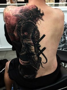 Amazing Samurai Tattoo