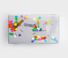 shake-confetti-wrap--not just for kids! What a great idea to make shake it wrapping paper. Have to step up my wrapping supplies.