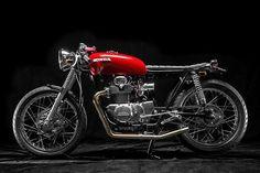 Honda CB350 Cafe Racer ~ Return of the Cafe Racers