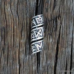 Viking beard bead