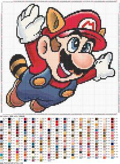 """Hoje trago para vocês 10 Gráficos do Super Mario Bros em Ponto Cruz para bordar. Gráficos em ponto cruz do Mario, Luigi, Toad, Yoshi e da Princesa Peach. Clique nas imagens até que fiquem em tamanho grande e com o botão direito do seu mouse clique em """"Salvar Como"""" para, desse modo, salvar a imagem do gráfico em seu computador em alta resolução. #artesanato #bordado #games #geek #gráfico #gráficopequeno #hq #infantil #Luigi #mario #pontocruz #PrincesaPeac Cross Stitch Pillow, Cross Stitch Love, Stitch Book, Beaded Cross Stitch, Cross Stitch Embroidery, Cross Stitch Patterns, Melty Bead Patterns, Beading Patterns, Super Mario Bros"""