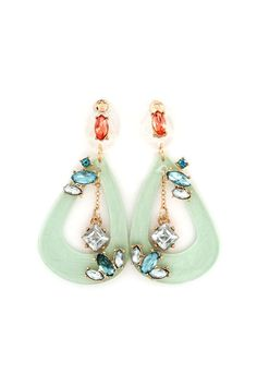 Emmaly Earrings in Lea.