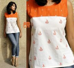 Items similar to casual cotton summer top for women on Etsy 0c910c909